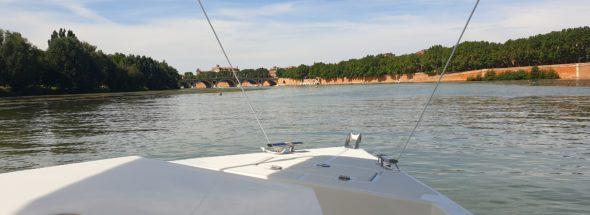 balade détente en bateau sans permis toulouse montauban